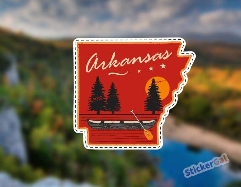 Buffalo River Sticker